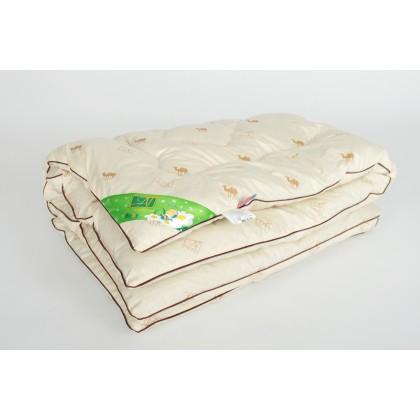 """Одеяло детское из верблюжьей шерсти  """"Верблюжонок"""" 110х140 классическое"""